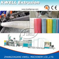 China CE Certified 12-200mm Flexible PVC Spiral Hose Making Machine, Corrosion Protection Hose for Conveying Water/Oil/Dust on sale