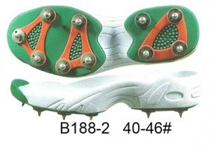 China PROFESSIONAL GOLF SHOE SOLES FULL SPIKES on sale