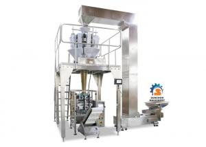 China Coffee bean / Ground coffee / Roast coffee bean Multihead Weigher Automatic Packing Machine with valve on sale
