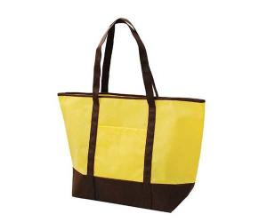 China 100% Eco Friendly PP Non Woven Shopping Bag Durable Silk Screen Printed on sale