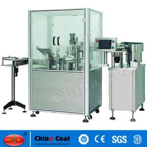 China Automatic Perfume Filling Capping Machine, automatic liquid filling machine , perfume filling machine on sale