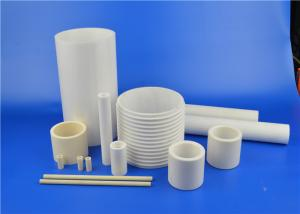 China High Temperature Wear Resistant 95% 97% 99% Machinable Alumina Ceramic Thread Tube on sale