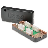 CAT7 600MHz Junction Box  LSA to LSA Connection Box  RJ45 Extention Box