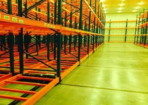 China Intelligence Storage Shelving System Mobile Racking System Anti Corrosion on sale