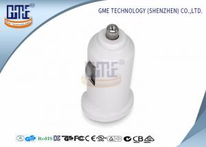 China White USB Car Charger AC DC 5V Adapter CEC level 6 ROHS Approved on sale