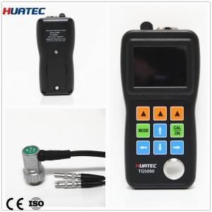 China Live A / B Scan Thru Ultrasonic Paint Thickness Gauge Echo-Echo for wall TG5000 Series on sale