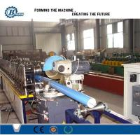 China Customized Cold Rolled Round Downpipe Roll Forming Machine Stainless Steel on sale