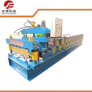 China High Capacity Roof Tile Roll Forming Machine For Building Construction Materials on sale