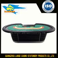 96 INCH Deluxe Custom Design Casino Table Black Baccarat Poker Table With Discard Holder