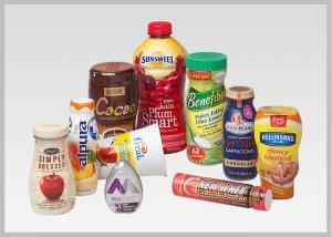 China Food Packaging Shrink Wrap Bottle Labels PVC PET Shrink Films Material For Wine Bottles on sale