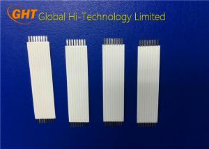Quality OEM / ODM 8 Pin Flat Ribbon Cable With Supporting Tape For Fax Machine / Copier for sale
