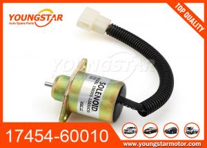 China 17454-60010 1745460010 17594-60014 Fuel Stop Solenoid For Kubota Tractor on sale