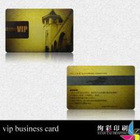 Transparent Plastic RFID Smart Chip Card / Embossed Business Card Printing