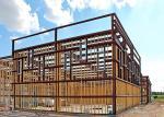 Prefabricated Steel Light Gauge Steel Structures Multiple Wall Panel Color