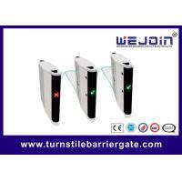 Metro Station Flap Barrier Gate Automatic Single / Double Core 12 Months Warranty