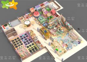 China Large Kids Indoor Playground Equipment Children Entertainment For Amusement Park on sale
