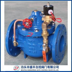 China SF600X Remote Control Float valve  shengfeng ductile iron remote control valve with high quality on sale