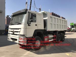 China Front Lift Dump Truck Heavy Duty Sinotruk Howo7 40T 18M3 6x4 10 Wheels on sale