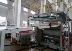 China PVC Artificial Marble Sheet Extrusion Line , Wall Panel Production Line for Interior Decoration on sale