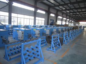 China Eco Friendly Copper Wire Bunching Machine ZL104 Aluminum Plate 2.2KW AC Motor on sale