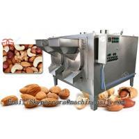 Drum Type Peanut Roasting Machine|Almond Roaster Machine|Nuts Roaster Price