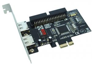 China PCI - Express 2 - Channel eSATA & IDE Controller Card on sale