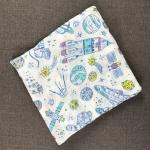 Large Muslin Multifunctional and Plush Floral Swaddle Baby Blanket