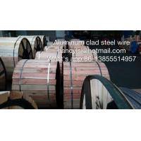 Customized Design Aluminum Clad Steel Wire Single Acs For Strand Wire
