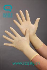 China Latex gloves that can be bought on the Internet with a good quality of a latex material on sale
