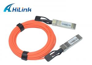 China SFP-10G-AOC 1M 2M 5M Active Optical Cable 10G SFP+ to SFP+ OEM Welcomed on sale