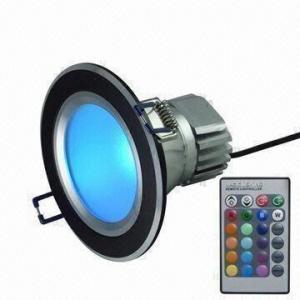 China 5W RGB LED downlight on sale