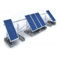 China 1.4KN/M2 Solar Panel Roof Mounting Systems Customized Color Aluminum Stainless Steel Structure on sale