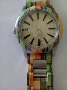 China fashion wooden watch,wooden watch,quarz watch,leather band on sale