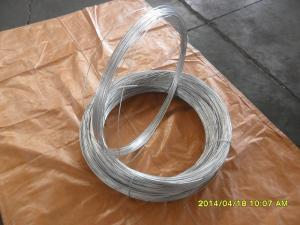 China 22# hot galvanized steel wire on sale