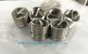China Bashan Stainless Steel Wire Thread inserts Screw M2-M36 Thread coils on sale