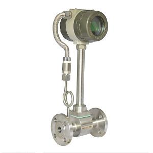 China Intelligent Vortex Flow Meter With 15mm - 300mm Pipe Size 24VDC / 12VDC on sale
