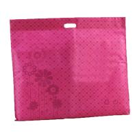 China Environmentally Friendly Shopping Bags Reusable D Cut Non Woven Handle Bag on sale