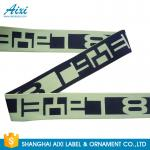 Printed Elastic Waistband 20MM - 50MM Jacquard Elastic Waistband For Underwear / Cothing