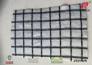 China Colgrill R Fiberglass Mesh Fabric , Asphalt Reinforcement Fabric 1-6M Width on sale