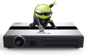China Led Smart TV WIFI 1080p Home Projector DLP 3D Beamer 1920 x 1080 on sale