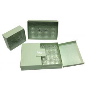 China Personalised Black Cardboard Gift Boxes Handmade Magnetic Cardboard Box on sale