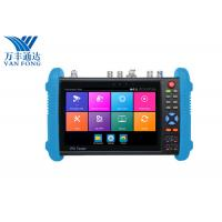 China 7 Inch IPS Touch Screen CCTV Security Camera Tester , 4K H.265 IP Cctv Camera Video Tester on sale