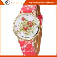 GV13 Geneva Watch Chinese Style PU Leather Watch Casual Watches for Woman Female Watches