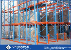 China Drive In Racking System For Storing , Drive Through Racking With Limited Space on sale