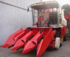 China Corn harvester,4YZ-3 corn combine harvester 90HP,Corn harvester threshing machines. on sale