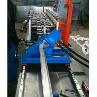 Automatic Stud and Track Roll Forming Machine For Light Steel Keel Frame by PLC Control with Hydraulic Cutter