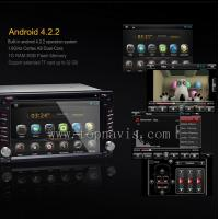 China Android 4.2.2 6.2 inch car dvd gps player on sale