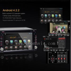 China Андроид 4.2.2 игрок 6,2 гпс двд автомобиля дюйма on sale