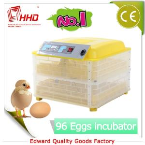 China EW-96 Newest CE certificate 96 eggs automatic chicken egg incubator hatching machine on sale