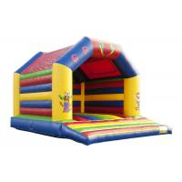 Circus Indoor Inflatable Bounce House Jumper High Durability Plato PVC Material